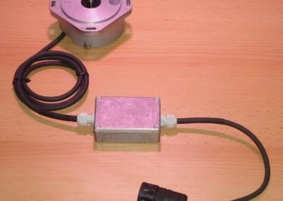 ROD 250 18000 típusú szögadó, MSMC adapterrel